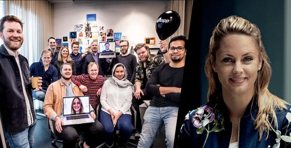 Tiptapp satsar utanför Sverige – backas av Sophia Bendz