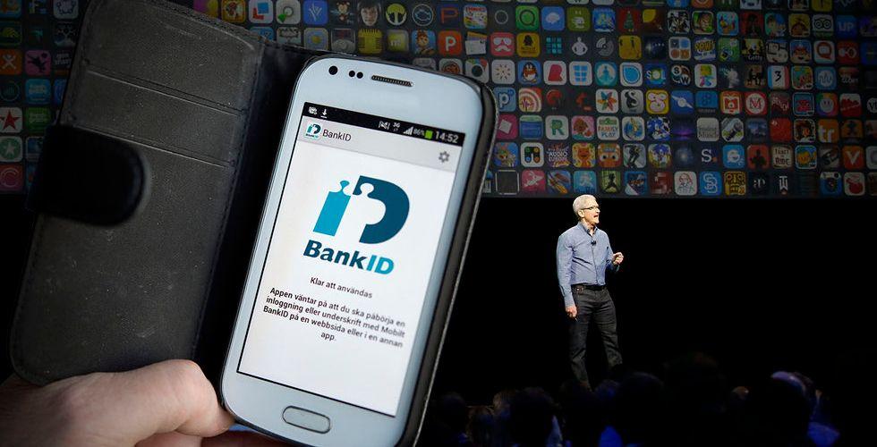 Dråpslaget: Apples regler hotar alla svenska appar med bank-id