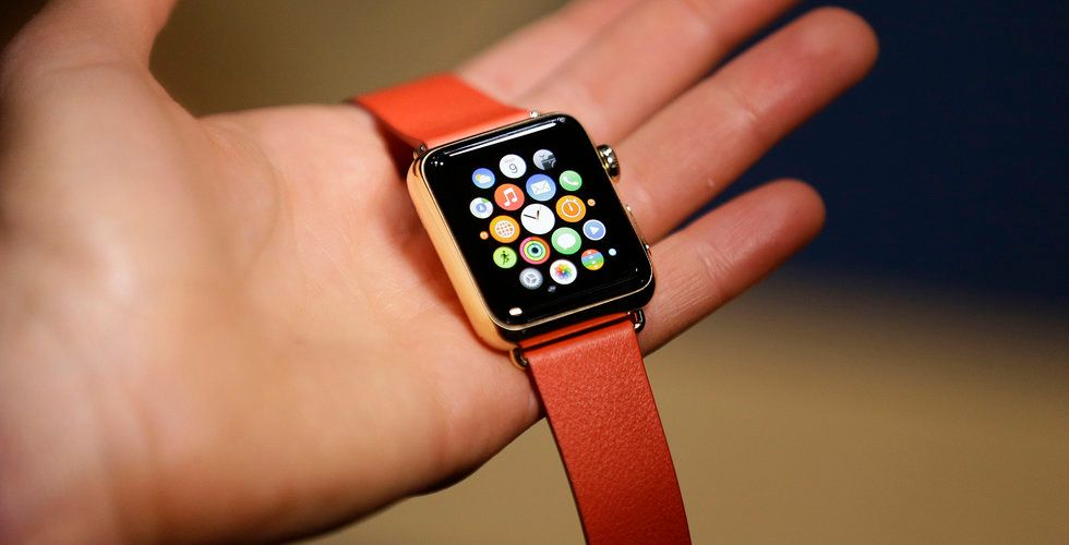 Apple stäms för tekniken i Apple Watch