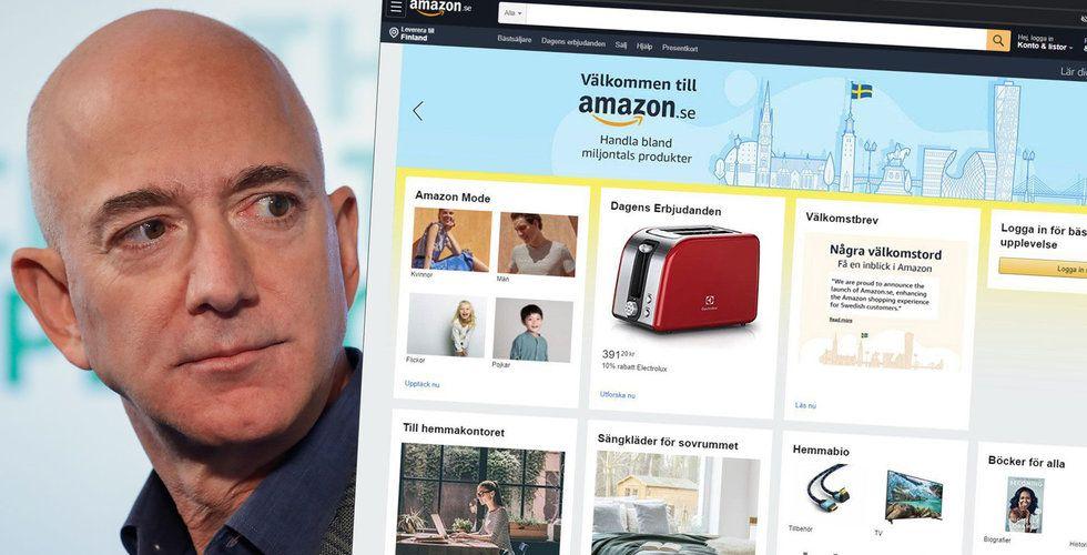 Bekräftat: Amazon lanserar Amazon.se