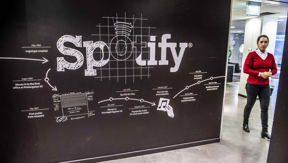 Breakit - Riskkapitaljätte överväger investera 4 miljarder i Spotify