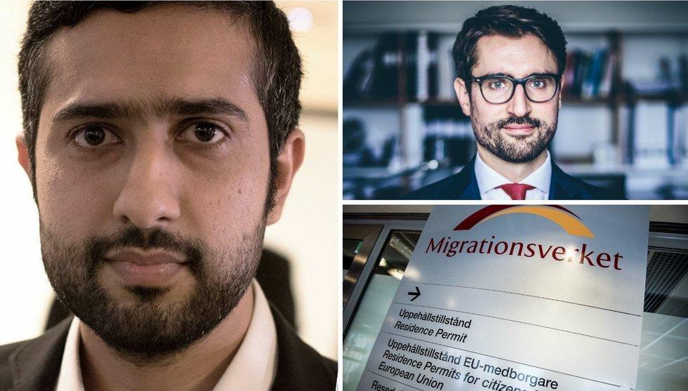"""Utvisningshotade Tayyab Shabab om beskedet: """"Kan hjälpa många"""""""