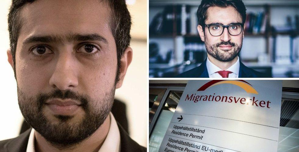 """Breakit - Utvisningshotade Tayyab Shabab om beskedet: """"Kan hjälpa många"""""""