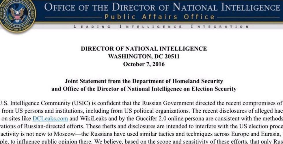 """USA: Vi är """"säkra"""" på att Ryssland hackat våra politiska partier"""