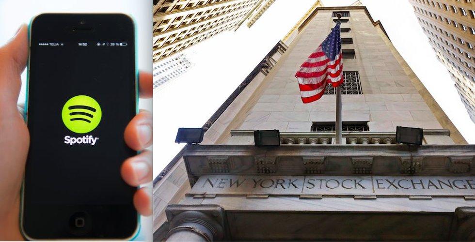 Spotify faller på börsen – trots historiskt resultat