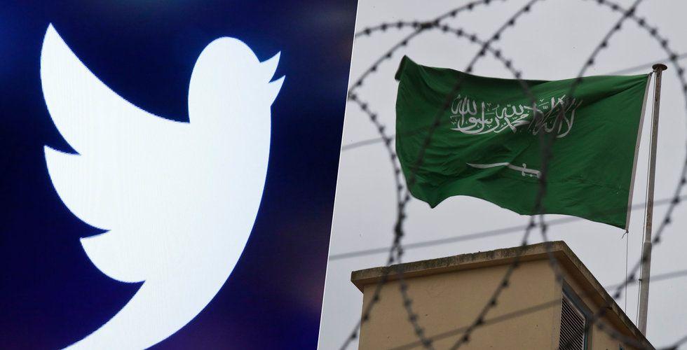 Uppgifter: Twitter-anställd uppmanades spionera åt saudiska regeringen