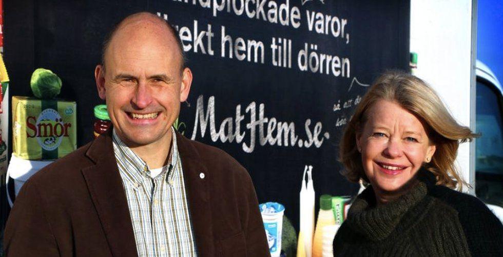 """Kinneviks Mathem fortsätter vinna mark: """"Mycket höga ambitioner"""""""