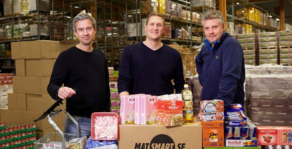 Kränger gammal mat på nätet - nu fyller Matsmart kassan rejält