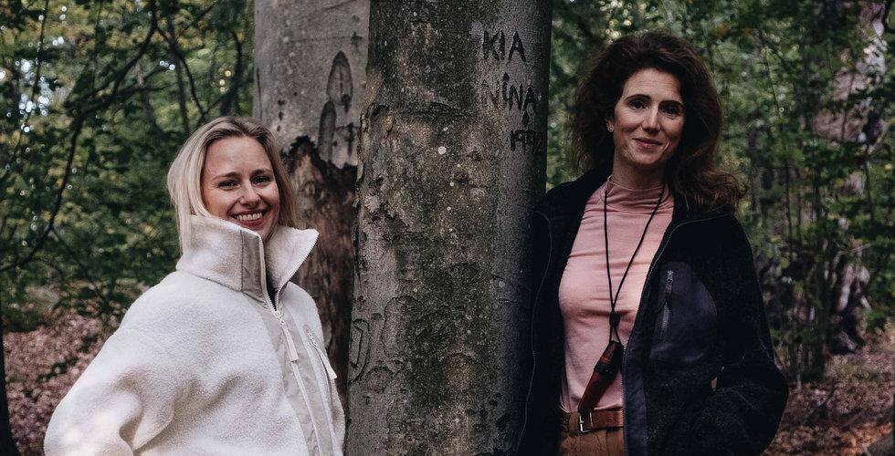 Deras startup Astrid Wild ska göra friluftskläder för kvinnor