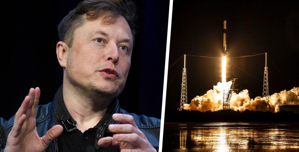 SpaceX raket exploderade vid landning