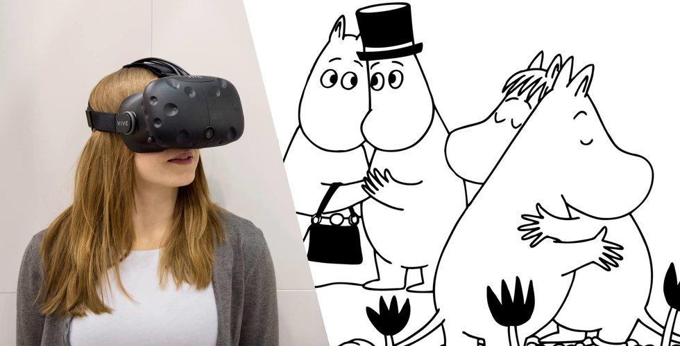 Vill du hänga i Mumindalen? Nu tar trollen klivet in i VR-världen