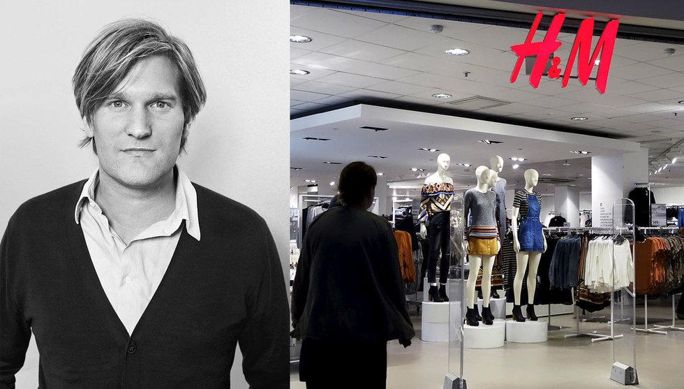 Han ska jaga startups åt H&M – klädjätten tar bladet från munnen