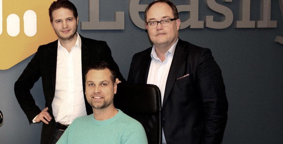 SEB Ventures investerar i det svenska startup-bolaget Leasify