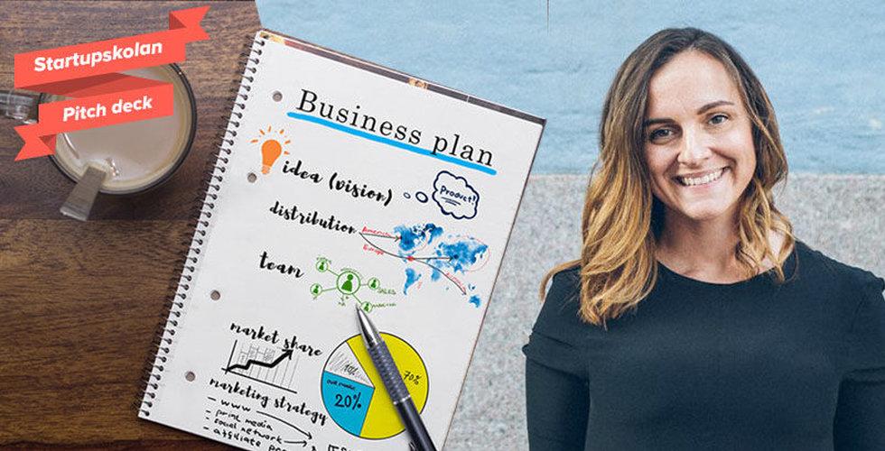 Starta eget företag – Så skriver du ett bra pitch deck