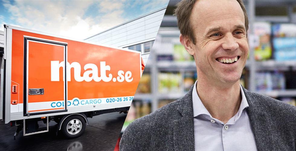 Matjätten Axfood kliver fram som den hemliga budgivaren på Mat.se
