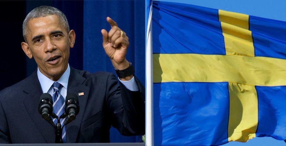 Barack Obama till svenska techfesten – inte så konstigt som det låter