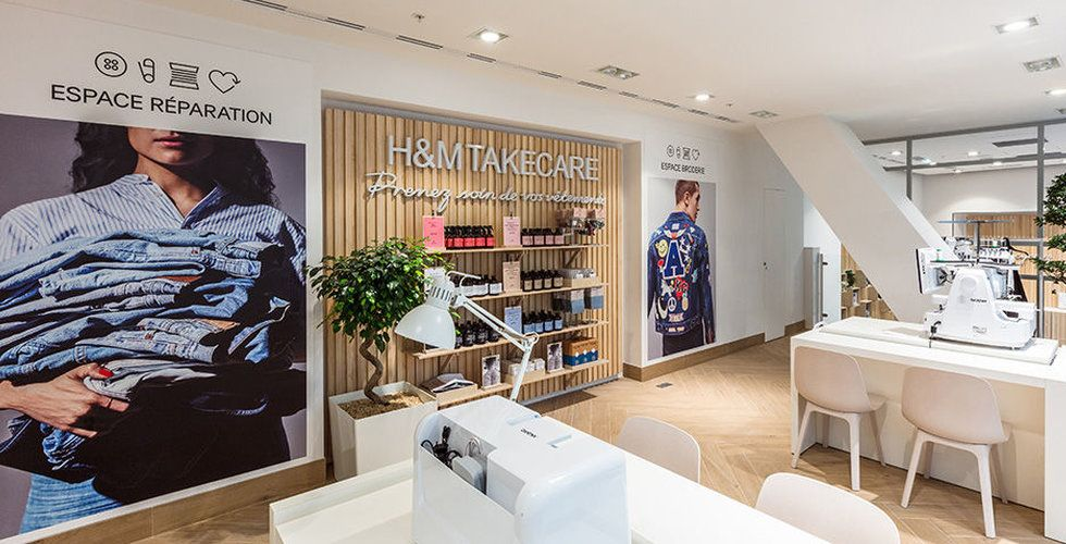 H&M tar sitt hållbarhetskoncept till Sverige