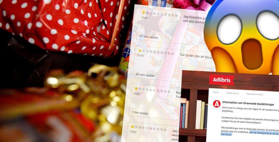 Efter förra årets haveri – Adlibris lovar leverans innan jul (igen)