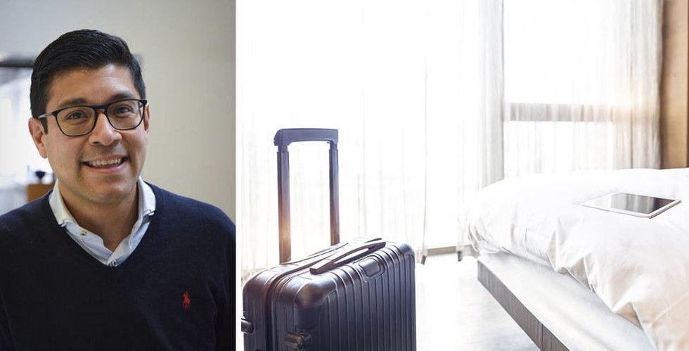 Breakit - Hotelluppstickaren Dib hotel snor Sverigechef från bokningsjätte