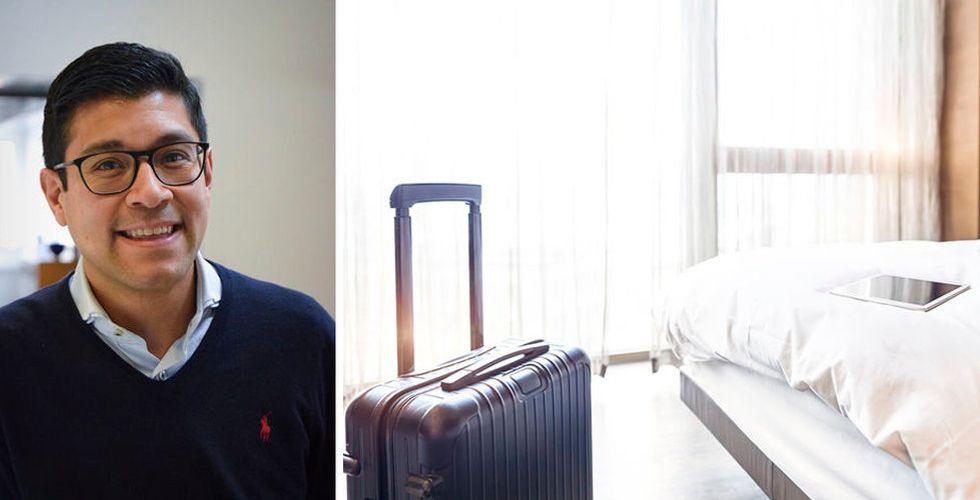 Hotelluppstickaren Dib hotel snor Sverigechef från bokningsjätte