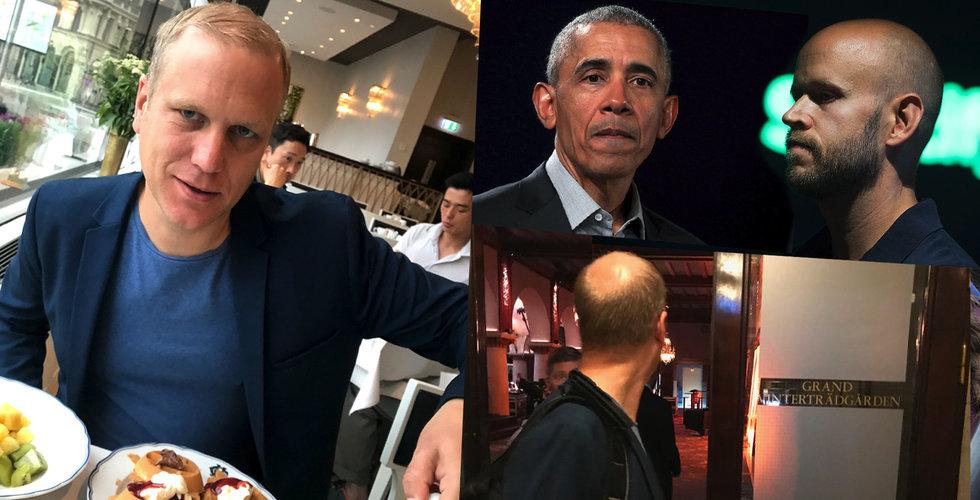 Jag köpte mig in på Obamas hotell – efter att ha nobbats av Brilliant Minds
