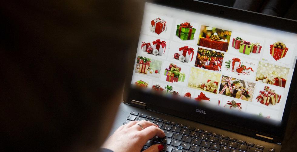 """Breakit - Var tredje julklapp väntas köpas på nätet: """"Starkaste perioden på året"""""""