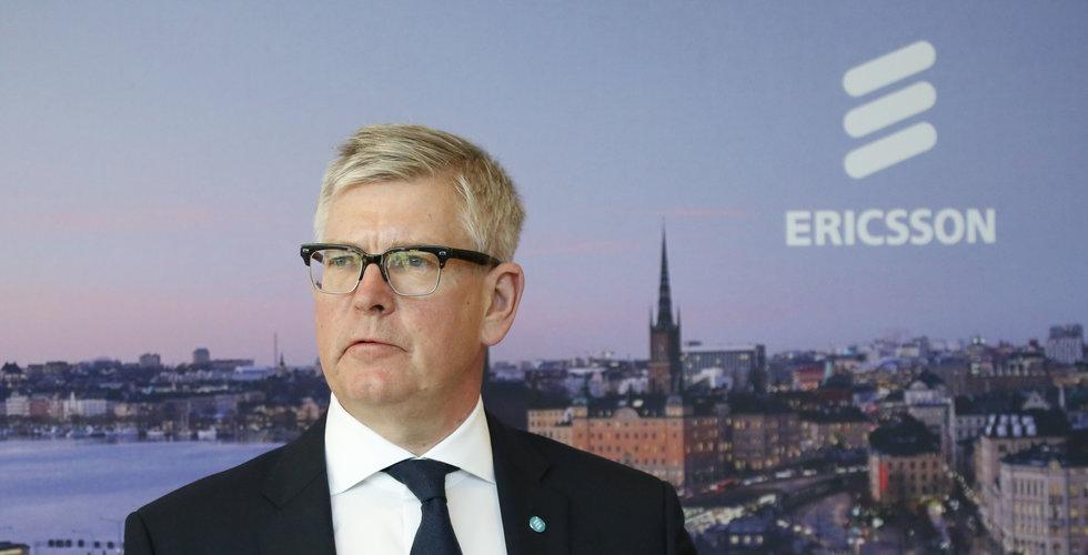 Sämre än väntat för Ericsson – som höjer utdelningen