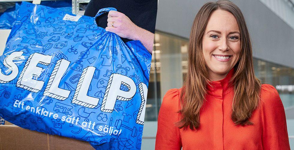 H&M-ägda Sellpy lanserar i Tyskland