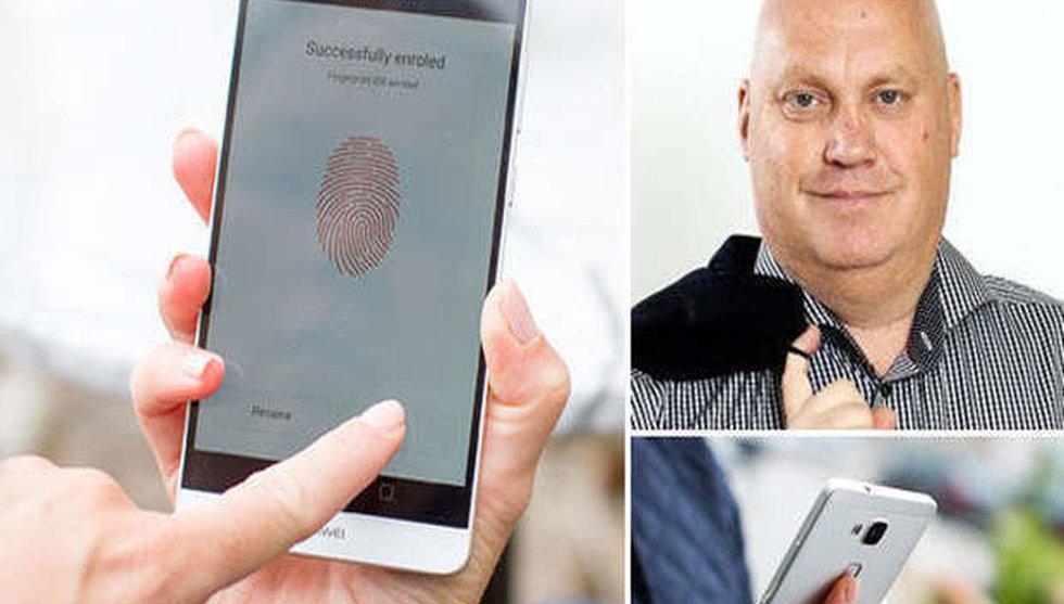 """Breakit - Fingerprint-chefen om hotet från Qualcomm: """"Det är mycket snack"""""""