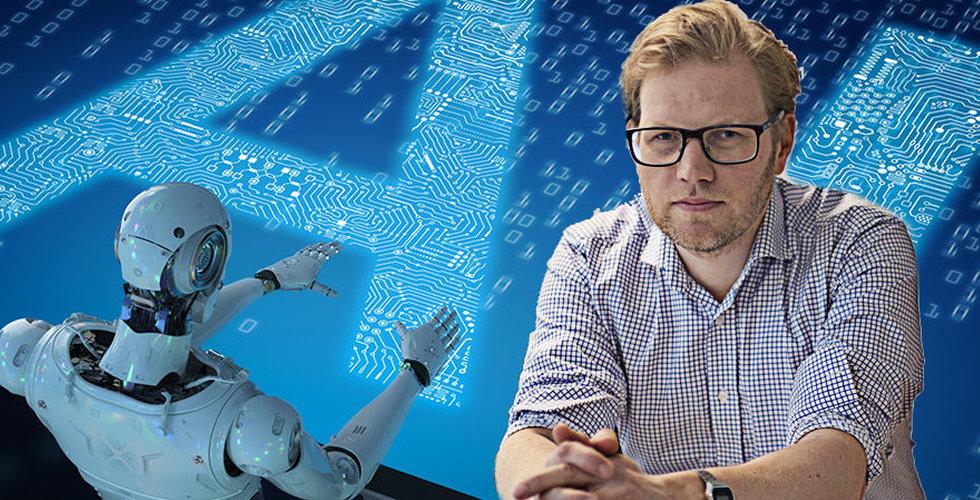 """Niklas Agevik: """"Inte första gången vi har en övertro på AI"""""""