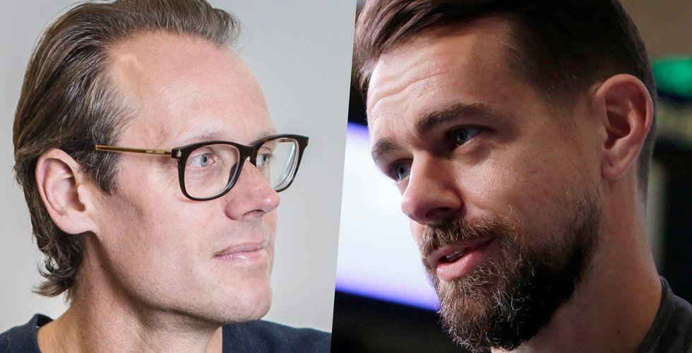 Klart: Nu startar duellen mellan Jack Dorsey och Jacob de Geer