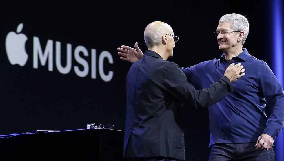 Breakit - Imorgon släpps Apple Music – men Android-användare får vänta