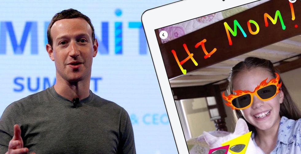 Facebook vill locka 6-åringar – och det får hälsoexperter att rasa mot Zuckerberg