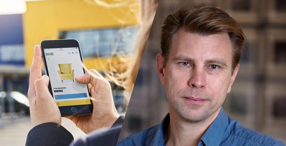 Ikea satsar på showrooms och ny teknik – vill möta digitaliseringen