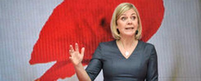 Finansministern: Målet är inte att sänka skattetrycket