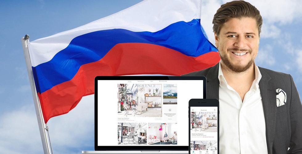 Byggde upp Rysslands största möbelsajt – nu säljs hans Westwing till fondjätten