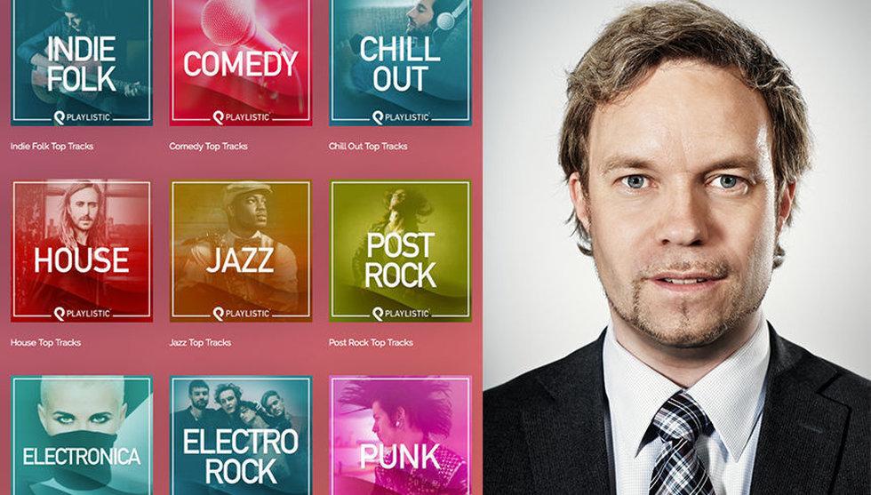 Breakit - Svensk doldis köper spellistor på Spotify – för miljonbelopp