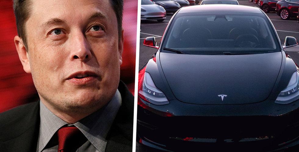 Tesla planerar bygga en halv miljon elbilar vid tysk Gigafactory