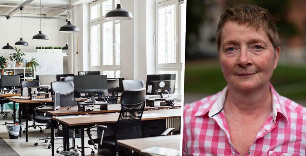 Fia Ewald är expert på informationssäkerhet– chatta om att jobba hemifrån