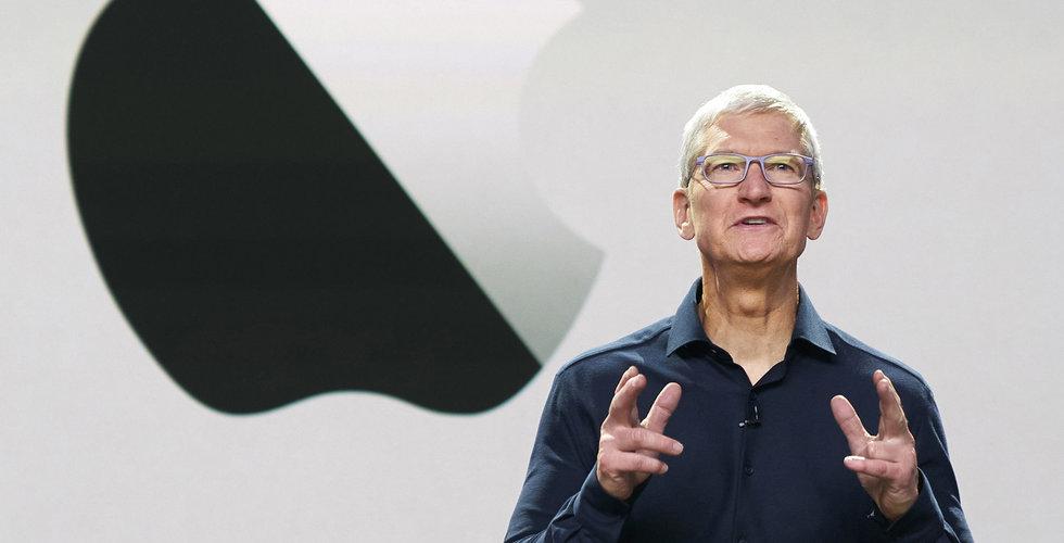 Apple presenterar nya Iphone 12 – aktien sjönk
