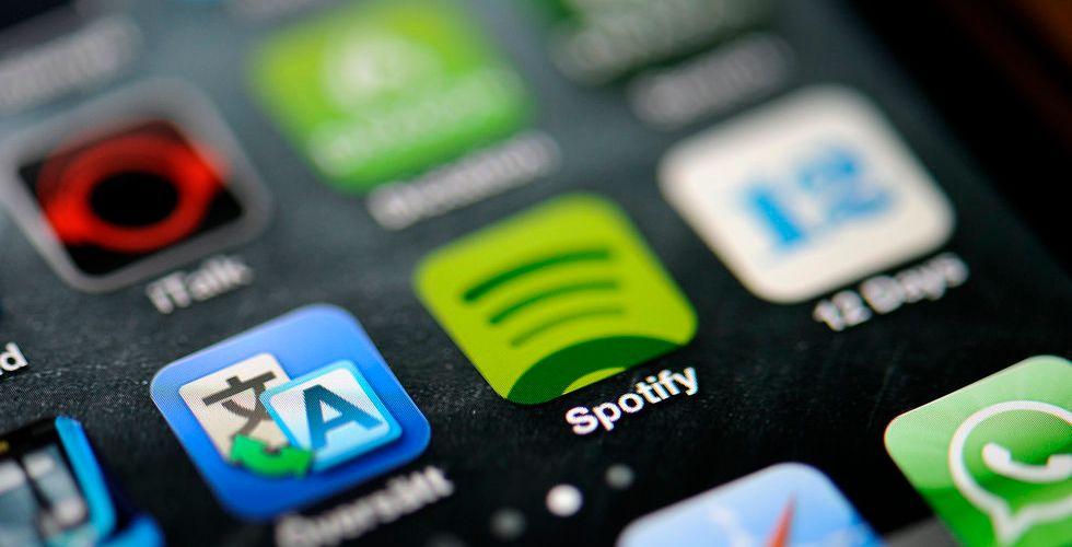Streaming fortfarande bara runt 15 procent av musikmarknaden