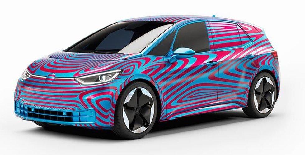 Stort intresse i Sverige för ny elbil från Volkswagen