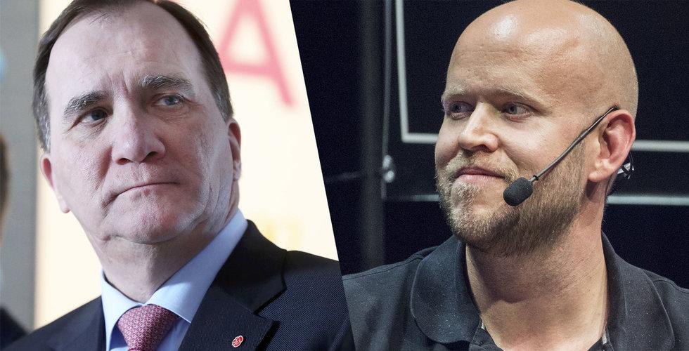 Breakit - Daniel Ek skickar brev till Löfven – vädjar om att slippa ny skatt