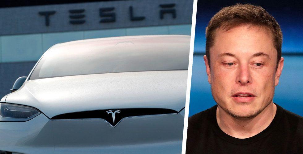 Tesla faller under 300 dollar på sänkt riktkurs från JP Morgan