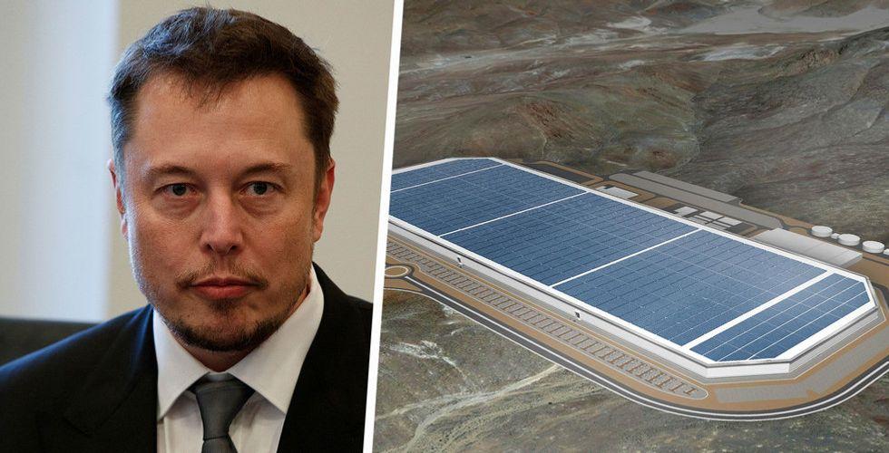 Kaotiskt på Teslas fabrik – halv miljon batterier slängs varje dag