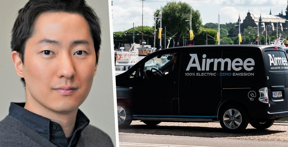 Airmee plockar in 160 miljoner kronor – fick in pengarna på bara tre dagar