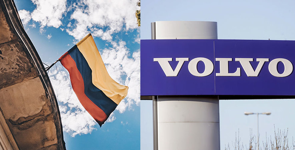 Snart rullar 700 Volvo-bussar på Colombias gator