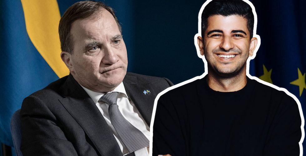 Att Löfven inte e-handlat är inte bara pinsamt – det är allvarligt för Sverige