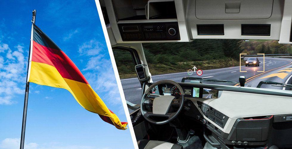 Tyska biltillverkare planerar allians inom autonoma bilar
