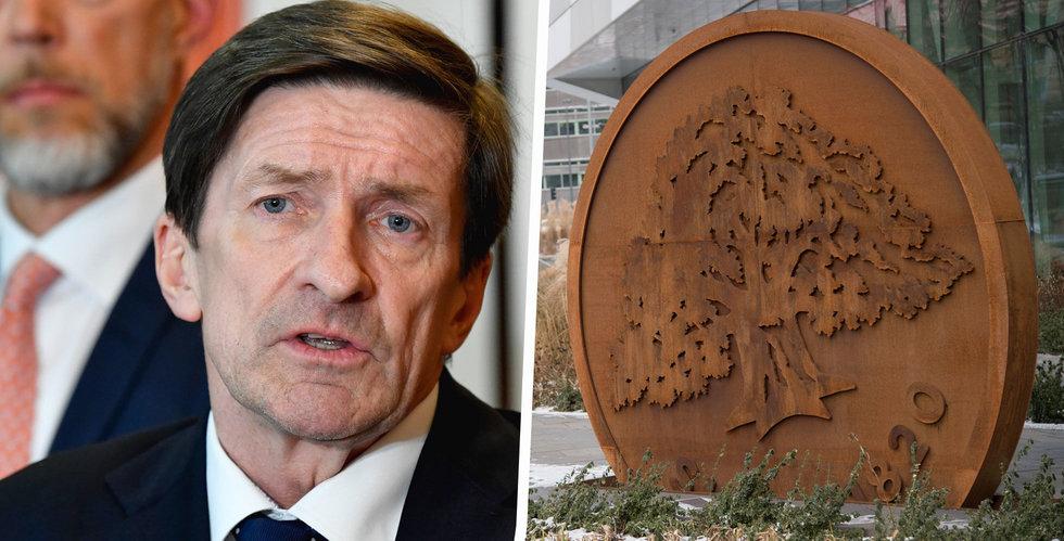 Swedbanks styrelseordförande Lars Idermark hoppar av